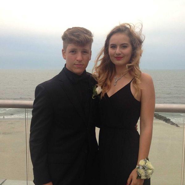 Oyster Bay High School exchange student Josie Bauer