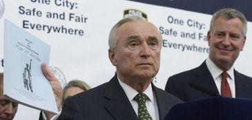 New York City Police Commissioner William J. Bratton,