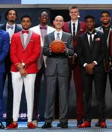 NBA Commissioner Adam Silver poses for a photo