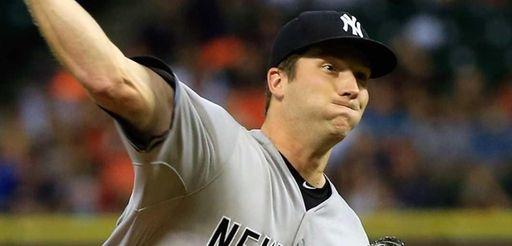 Adam Warren #43 of the New York Yankees