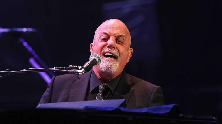 Billy Joel on stage June 20, 2015 at