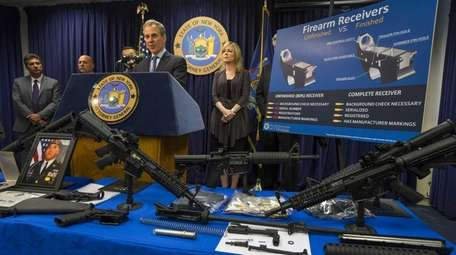 State Attorney General Eric T. Schneiderman at a