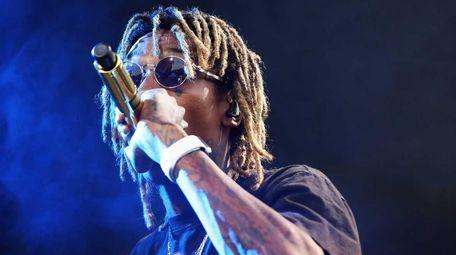 Wiz Khalifa takes the stage at the Nikon