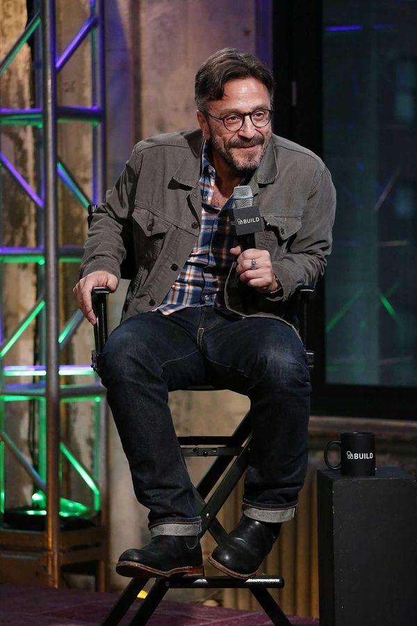 Comedian Marc Maron attends the AOL Build Speaker