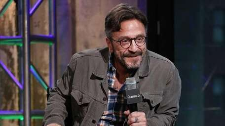 Comedian Marc Maron attends the AOL Build Speaker