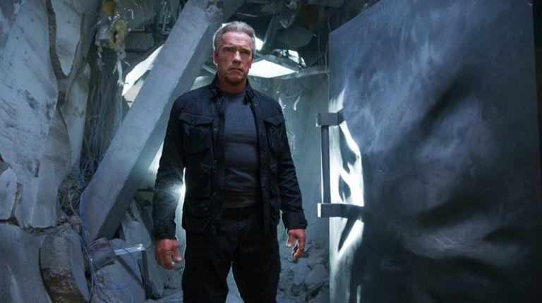 Arnold Schwarzenegger reprises his role as the Terminator