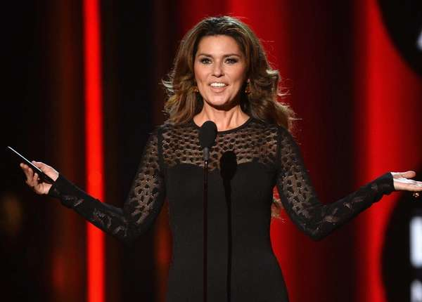 Recording artist Shania Twain is coming to Nassau