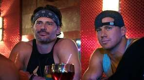 Joe Manganiello as Richie and Channing Tatum as