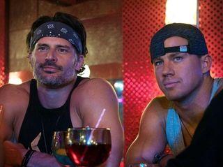 Joe Manganiello as Richie and Channing Tatum as