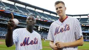 Jerian Grant, left, and Kristaps Porzingis of the