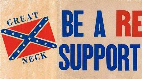 A Great Neck South High School bumper sticker