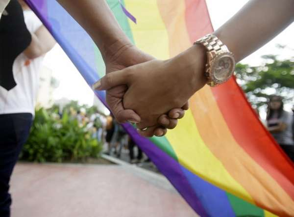 Filipino LGBTs (Lesbians Gays Bisexual and Transgenders) hold