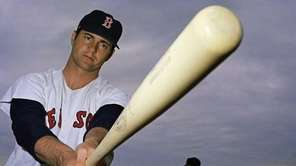 Boston Red Sox outfielder Carl Yastrzemski shown 1969.