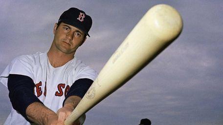 Boston Red Sox outfielder Carl Yastrzemski shown 1969.