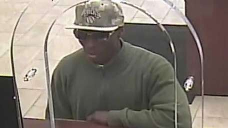 The man who robbed a Chase Bank in