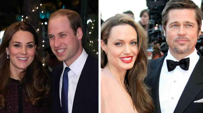 Brad Pitt and Angelina Jolie met with Prince