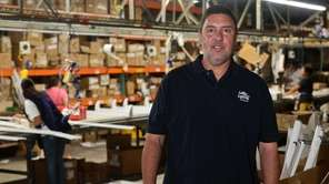 Jeff Goldstein, CEO of LaMar Lighting in Farmingdale,