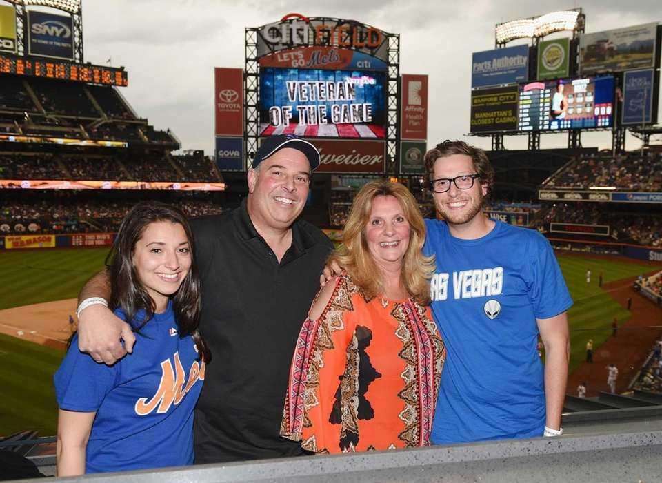 The family of Mets starting pitcher Steven Matz