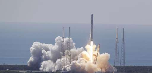The SpaceX Falcon 9 rocket and Dragon spacecraft