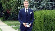 West Hempstead High School senior Eric Romano won