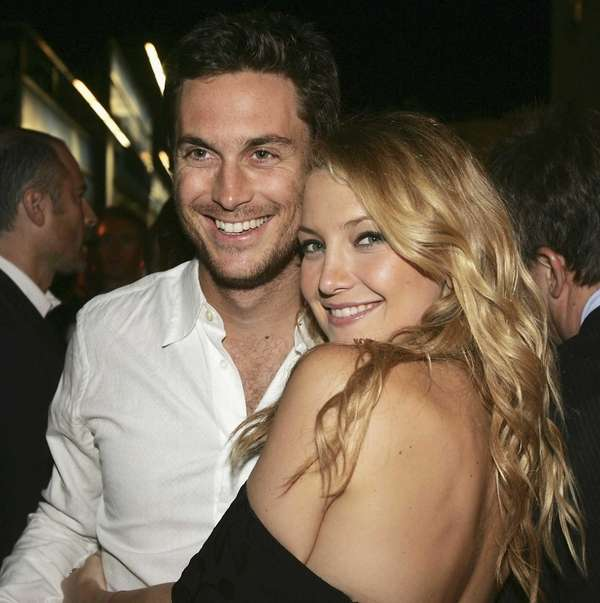 Actors Oliver Hudson and his sister, Kate Hudson,