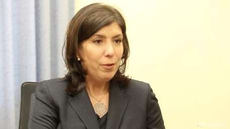 Acting Nassau DA Madeline Singas is running for