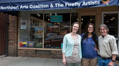 Kate Sydney, left, and Jennifer Lau, co-owners of