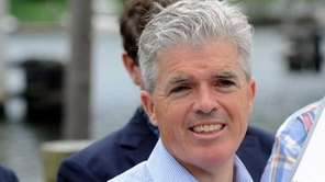 Suffolk County Executive Steve Bellone in Riverhead on