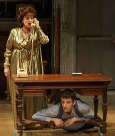 Patti LuPone and Michael Urie in