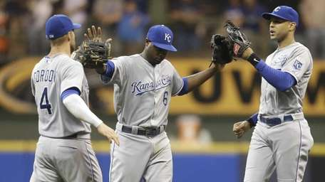 Lorenzo Cain #6 of the Kansas City Royals