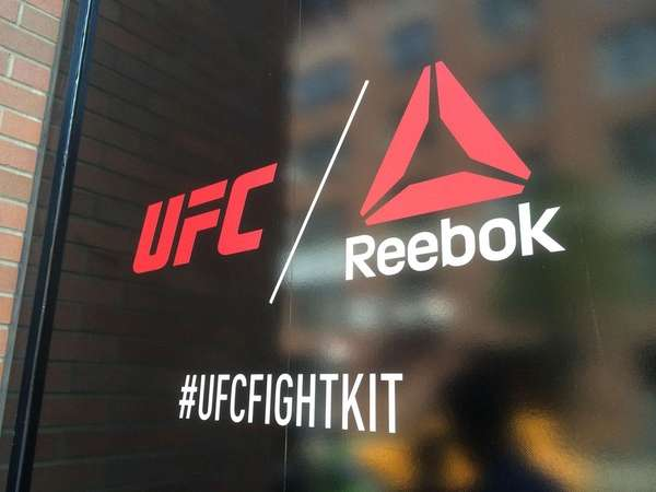 The UFC and Reebok introduced new apparel for
