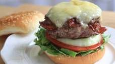 A bacon-stuffed cheeseburger is just one tasty option