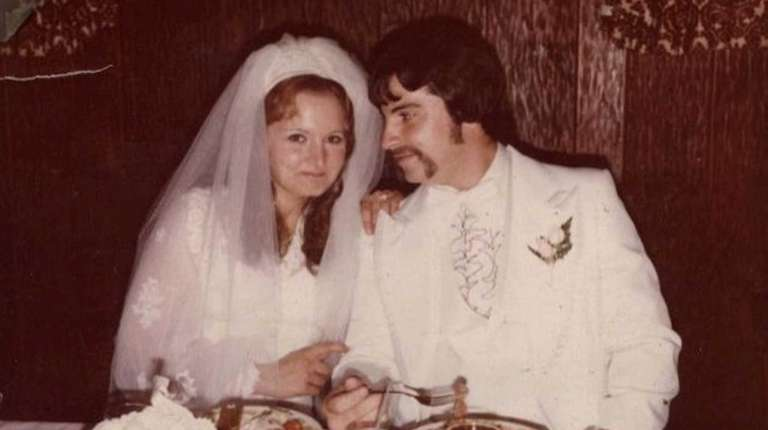 Carla and Craig Procida on their wedding day,