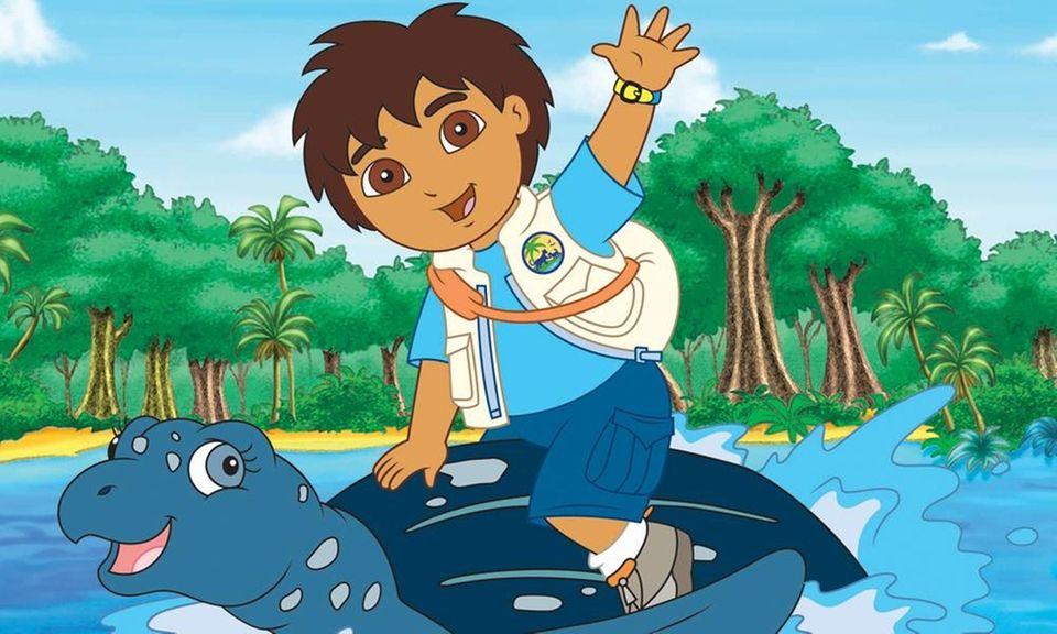 Jake T. Austin, the original voice of Diego