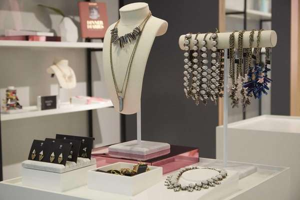 Jewelry at the new BaubleBar in Roosevelt Field,