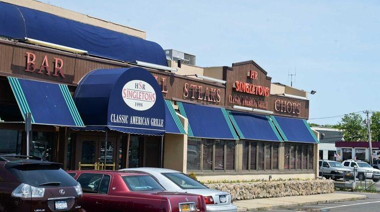Harendra Singh's flagship restaurant, H.R. Singletons in Hicksville,