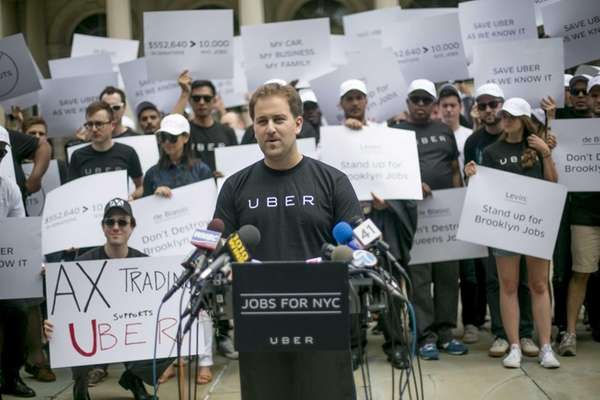 Josh Mohrer, general manager of Uber New York,