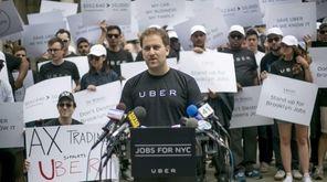 Josh Mohrer, general manager of Uber New York,