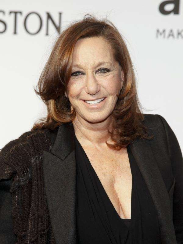 Donna Karan attends an amfAR's gala in Manhattan