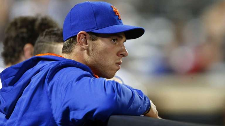 Steven Matz of the New York Mets looks