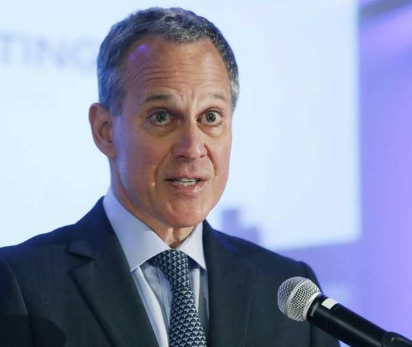 New York State Attorney General Eric Schneiderman is