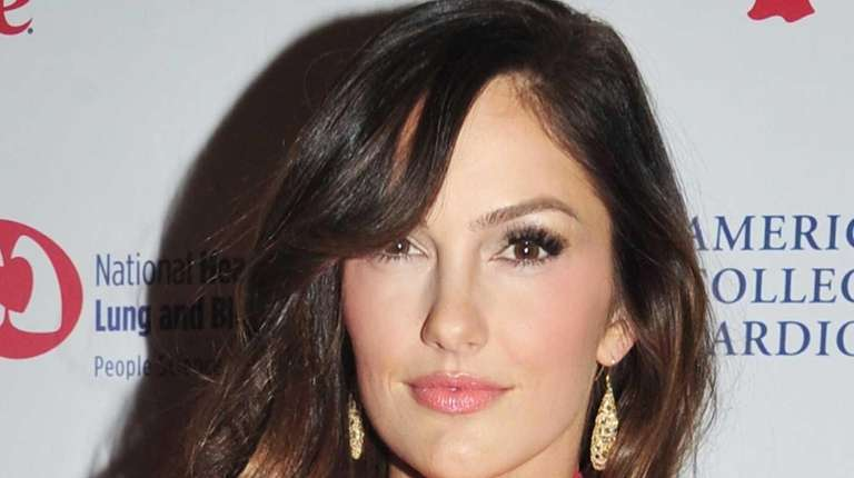Minka Kelly attends the Red Dress Collection 2013