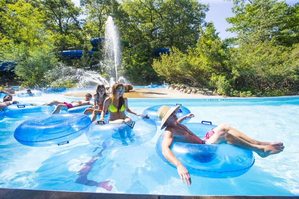 Splish Splash in Calverton features two wave pools