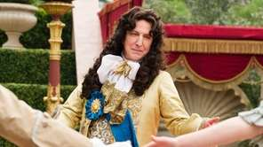 Alan Rickman plays France's King Louis XIV in