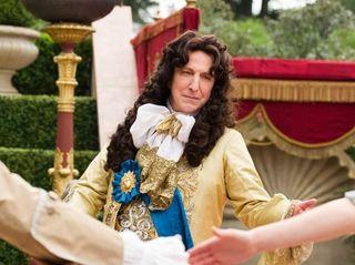 Alan Rickman plays France's King Louis XIV in