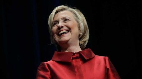 Democratic presidential hopeful and former U.S. Secretary of