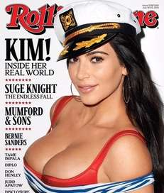 Ahoy! Kim Kardashian is on the cover of