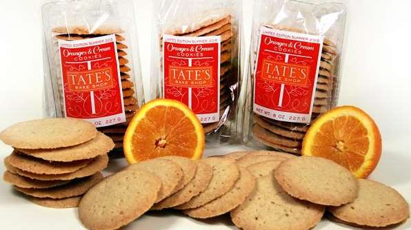 Oranges and Cream cookies from Tate's Bake Shop