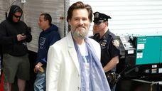 Jim Carrey visits