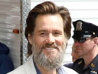 Jim Carrey visits